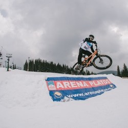 Concursuri de Skicross si mountain bike la Arena Platos