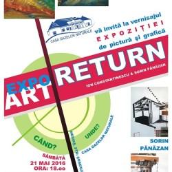 """Expozitia de pictura si grafica """"Expo ArtReturn"""""""