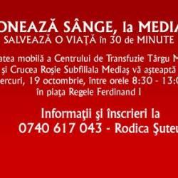 Doneaza sange, la Medias