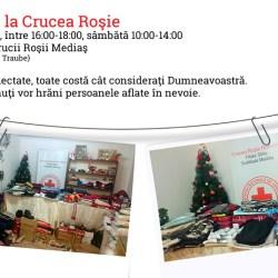Crucea Rosie Medias organizeaza doua campanii umanitare