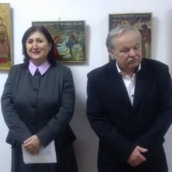 Iconograful sibian Mihai Gagea expune la Medias