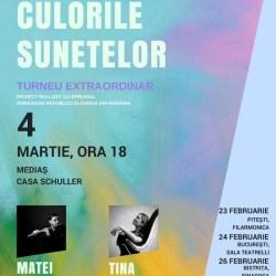 """Concertul """"Culorile sunetelor"""" la Casa Schuller"""