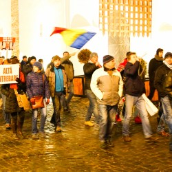 Galerie foto: Protest Medias, ziua a doua