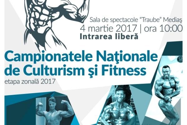 Mediasul gazduieste etapa de zona a Campionatului National de Culturism