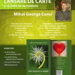"Mihai George Corui lanseaza cartea ""Cand dragostea se-ntampla"""