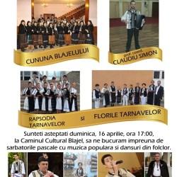 """Spectacolul folcloric """"BUCURIA INVIERII"""""""