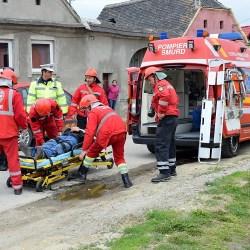 Copsa Mica: Exercitiu de alarmare-evacuare cu tematica incendiu