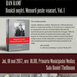 """Dan Ramf : Lansarea cartii """"Bunicii nostri. Memorii peste veacuri (Vol. I)"""""""