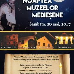 Noaptea Muzeelor Mediesene - 2017