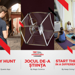Activitati interactive prin conceptul TEDxSibiu Adventures