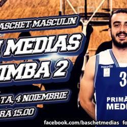 CSM Medias intalneste acasa CS BC TIMBA 2 Timisoara