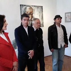 "Vernisajul expozitiei ""Materie, spirit si culoare in arta medieseana contemporana"" (video)"