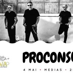 Castiga o invitatie dubla la concertul Proconsul