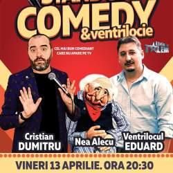 Castiga o invitatie dubla la cel mai interactiv spectacol de stand-up comedy din Romania