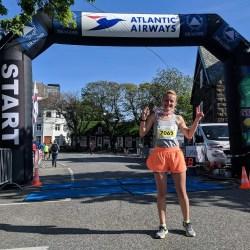 O medieseanca a participat la un  maraton in Insulele Feroe