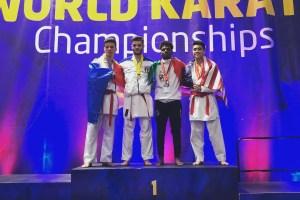 Karate WUKF: Medieseanul Catalin Paturan, campion mondial la categoria -75 kg