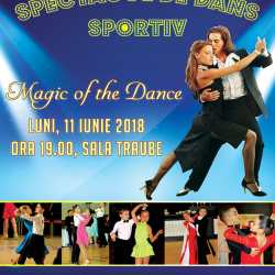 "Spectacol de dans sportiv ""Magic of the dance"""