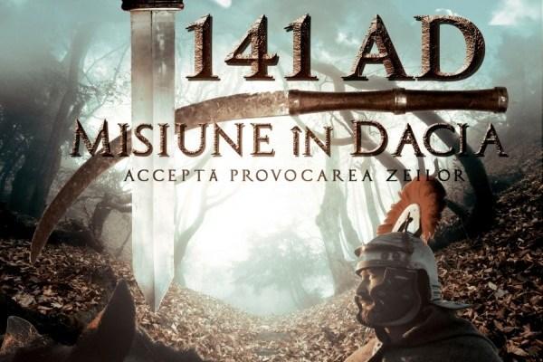"Filmul sibian ""141 A.D. Misiune in Dacia"" se gaseste online"