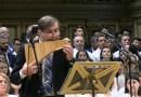 Edy Mihaiescu Satinger poposeste la Sinagoga Medias