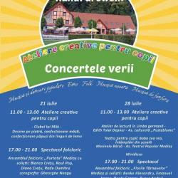 Atelierele pentru copii si concerte la Hanul Greweln