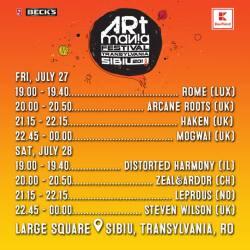Program ARTmania Festival 2018