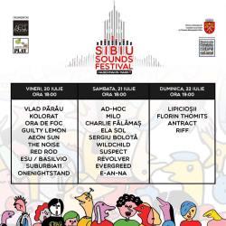 Programul Sibiu Sounds Festival