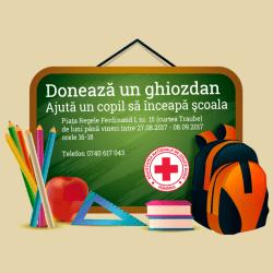 "Campania ""Doneaza un ghiozdan"", editia 2018"