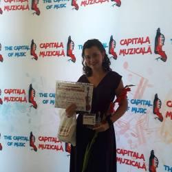 "Iulia Teodora Lepadat, premiata la Festivalul International ""Capitala Muzicala"