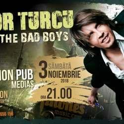 Castiga o invitatie dubla la concertul lui Tudor Turcu & The Bad Boys