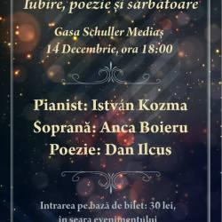 "Concertul ""Iubire, poezie si sarbatoare"""