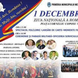 Programul evenimentelor dedicate Zilei Nationale a Romaniei