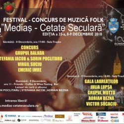 "Sambata incepe Festivalul ""Medias - Cetate Seculara"""