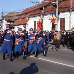 Ceremonial militar de defilare prilejuit de Ziua Nationala a Romaniei
