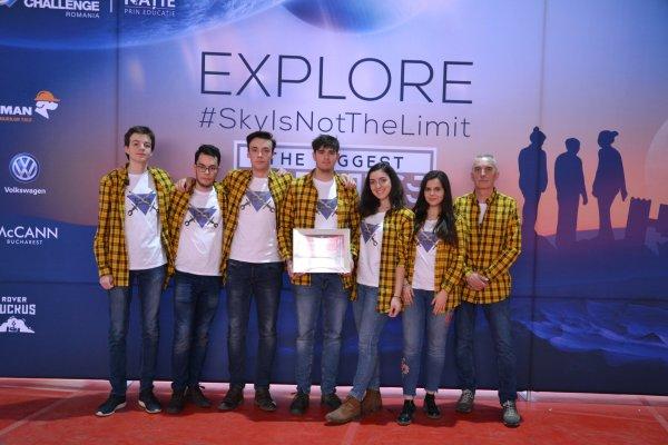 Code Warriors participa la finala concursului BRD First Tech Challenge