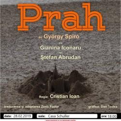 "Castiga o invitatie dubla la piesa de teatru ""Prah"""