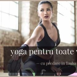 Curs demonstrativ de yoga pentru toate varstele