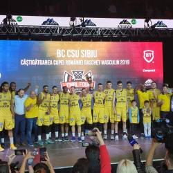 Baschet: CSU Sibiu a castigat in premiera Cupa Romaniei