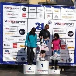 Maria Herman si Ionut Preda, pe podium la  Intersport Maraton Brasov
