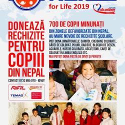 Ajuta o medieseanca sa plece intr-o misiune umanitara in Nepal!