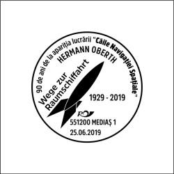 Stampile dedicate aniversarilor Oberth
