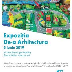 "Expozitia ""De-a Arhitectura"" la Muzeul Municipal Medias"