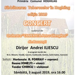Concert simfonic la Sarbatoarea Tuberozelor din Hoghilag