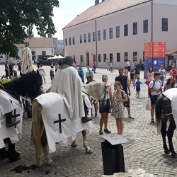 Ateliere de echitatie la Festivalul Medias, cetate medievala. Targ de mestesuguri vii