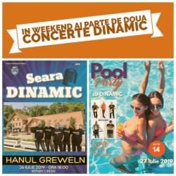 Doua concerte DINAMIC
