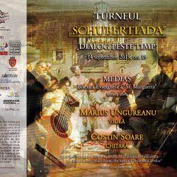"""Turneul international """"Schubertiada-Dialog peste timp"""" ajunge la Medias"""