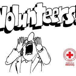 Vrei sa faci voluntariat la Crucea Rosie?