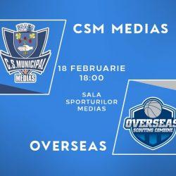 Baschet: CSM Medias are azi meci de verificare