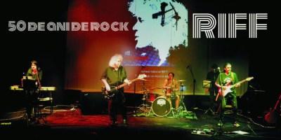 RIFF – 50 de ani de rock