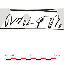 Prima formă de scriere din zona Mediașului.