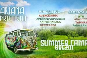 Summer Camp Brezoi:  Mariana si prietenii